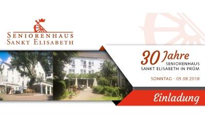 30 Jahre Seniorenhaus Sankt Elisabeth in Prüm